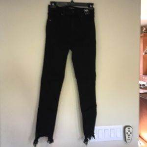 Abercrombie and Fitch black jeans size 25/0R